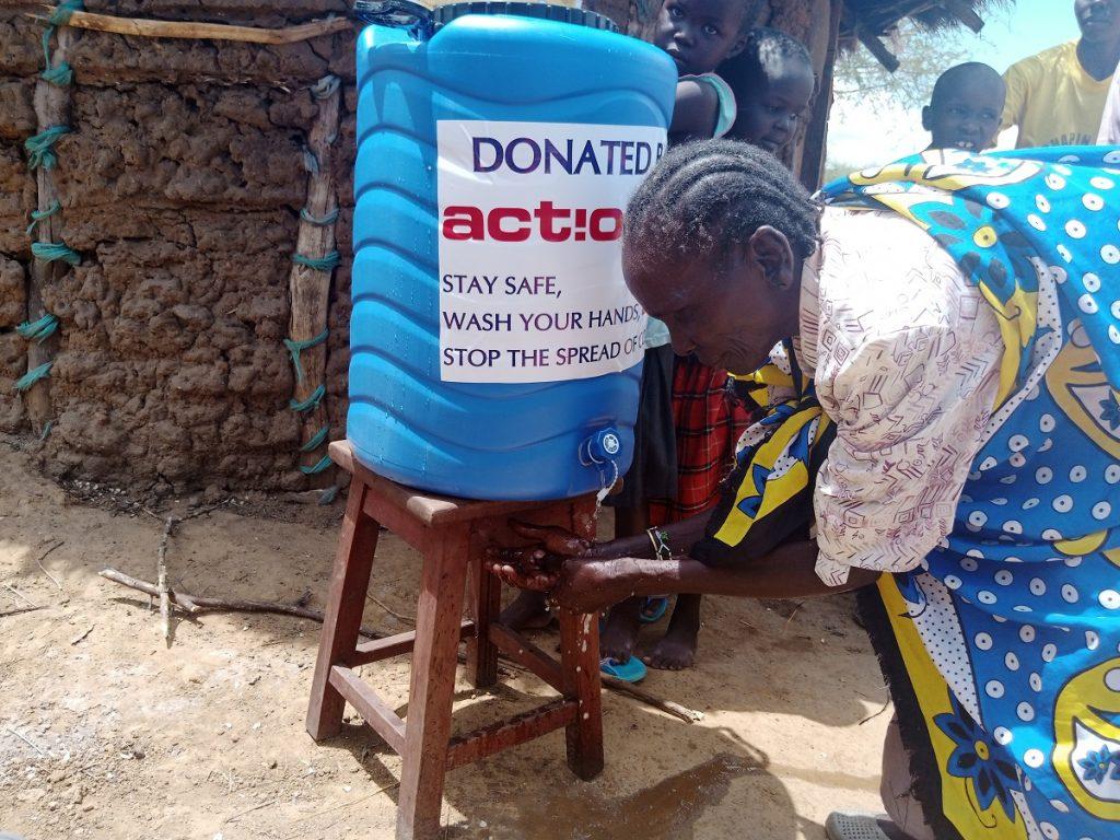 "Covid-19, Actionaid: ""Allarme in Kenya, subito acqua e kit igienici""."