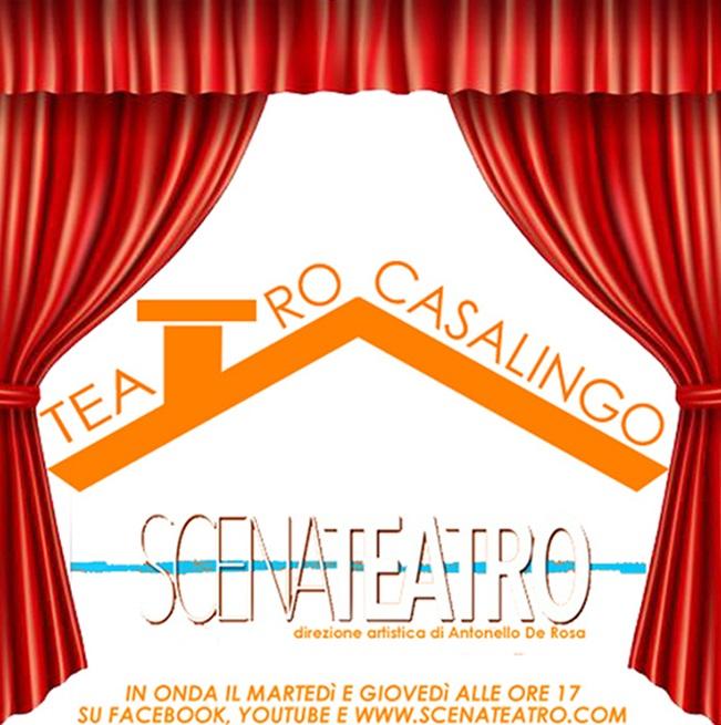 Associazione Scena Teatro scelgono 'Teatro Casalingo': ecco gli ospiti presenti nella 16esima puntata.