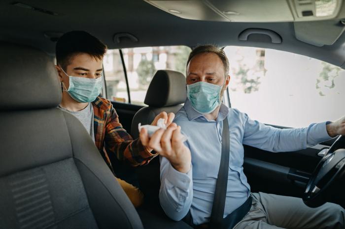 Coronavirus,quanti passeggeri in auto?