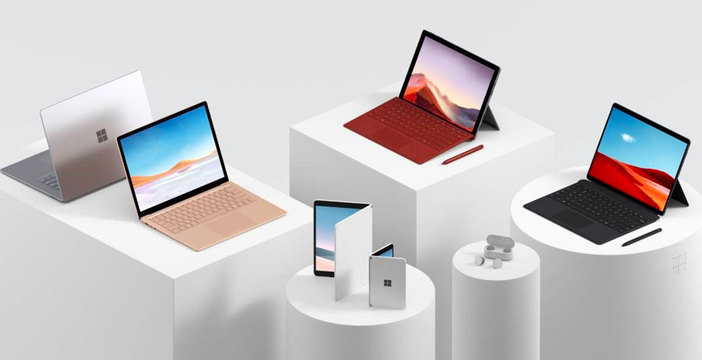 Microsoft presenta nuovi laptop Surface