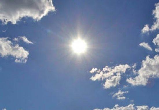 Meteo weekend, dopo due giorni piene di nuvole, ritorna il sole e l'alta temperatura