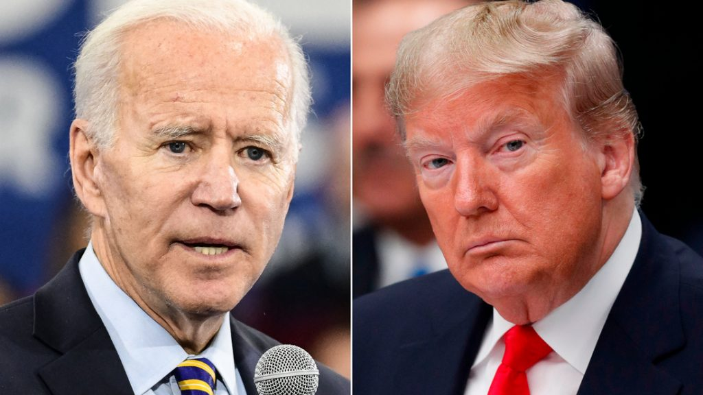 """Elezioni americane, Biden contro Trump: """"Questo presidente cercherà di rubare le elezioni""""."""