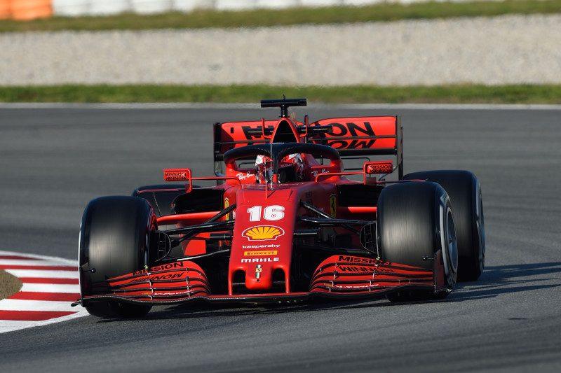 F1: al via ai test con Vettel e Leclerc