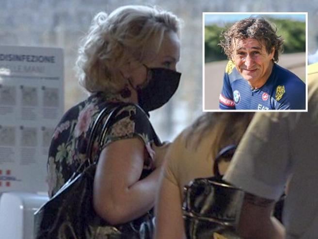 """Zanardi,la moglie Daniela:""""si all'intervento,ma ad una condizione"""""""