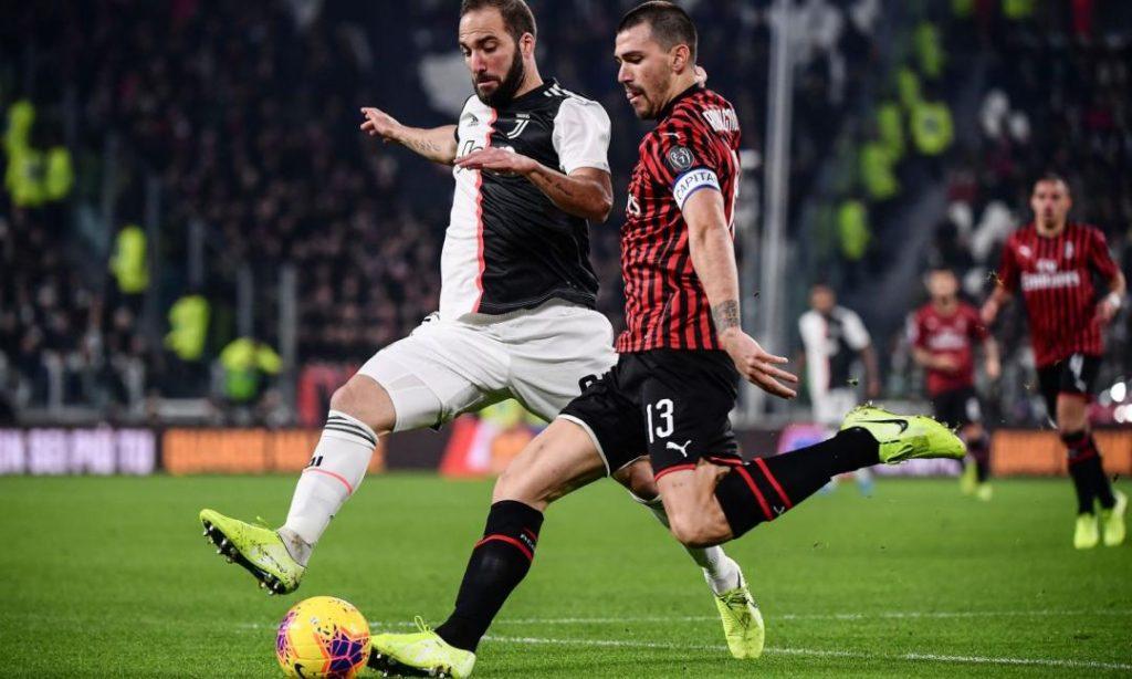 Stasera riparte il calcio, scendono in campo per la semifinale di Coppa Italia: Juve-Milan