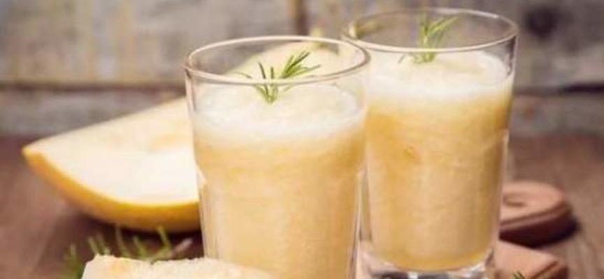 Creare la bevanda con i semi del melone? certo che si può!