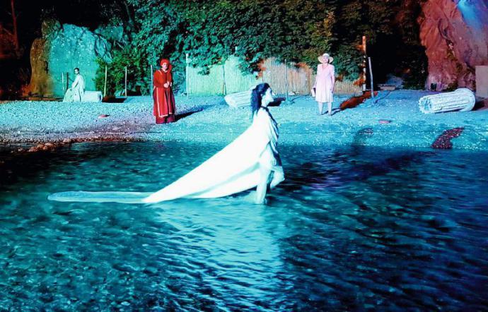 Al Teatro Gole dell'Alcantara molto presto andranno in scena gli spettacoli 'Odissea' ed 'Inferno'