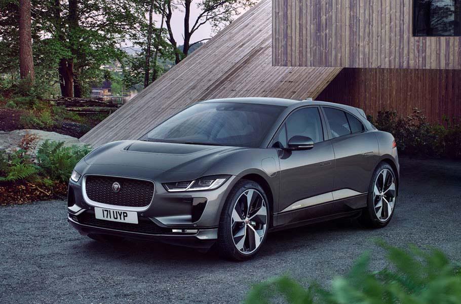 Il nuovo restyling del Jaguar I-Pace