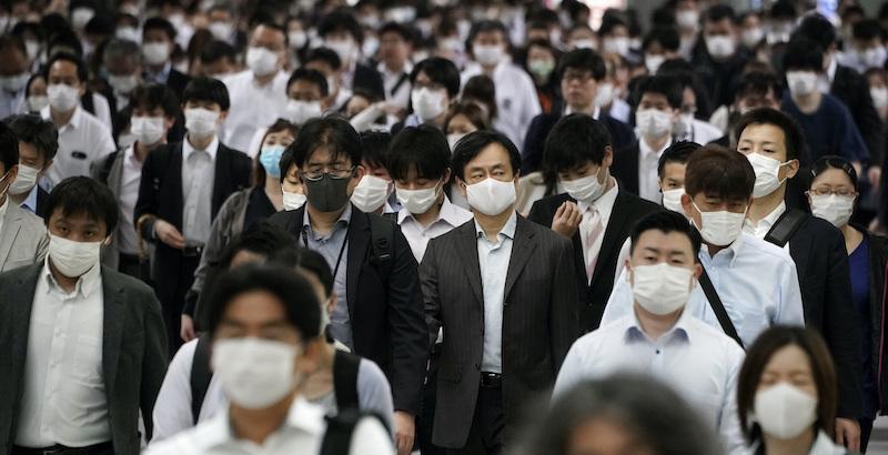 Covid19 a Tokyo: registrati in 24 ore +107 casi