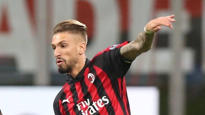Milan, contro la Lazio fuori Castillejo