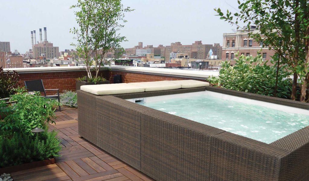 Si può montare la piscina sul balcone?