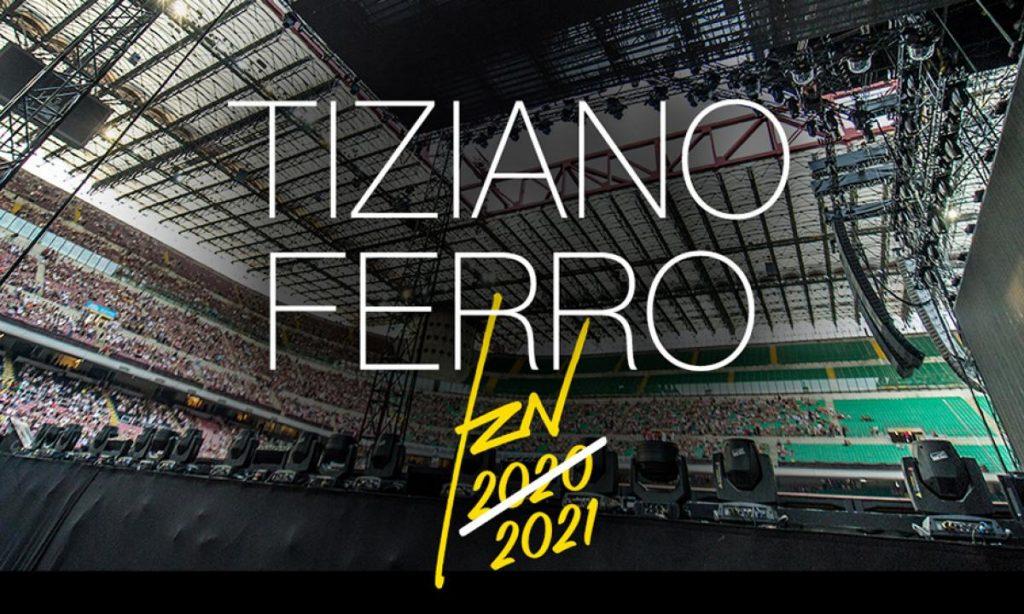 Tiziano Ferro: programmato tour 2021