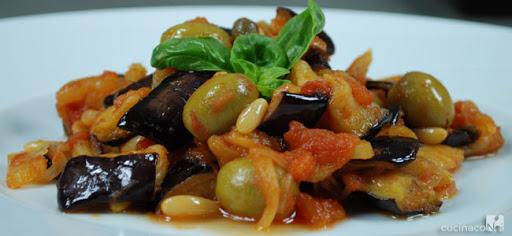 Ricetta Siciliana: 'Caponata di melanzane'