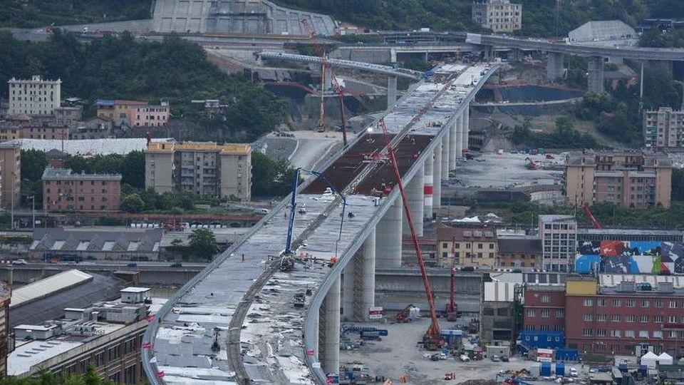 Genova riparte, si inaugura il nuovo ponte sul Polcevera