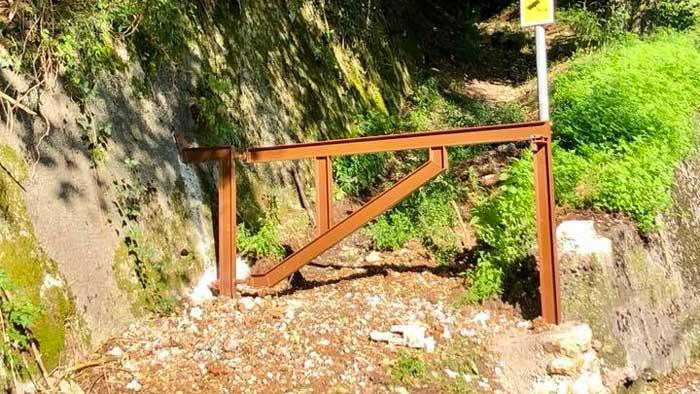 Diritto di passaggio,si può installare una sbarra per delimitare l'accesso ?