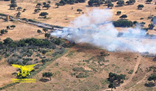 Sardegna: registrati i primi incendi,partiti subito gli aiuti