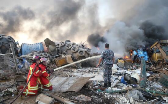 Esplosione in Libano:Beirut come Hiroshima e Nagasaki