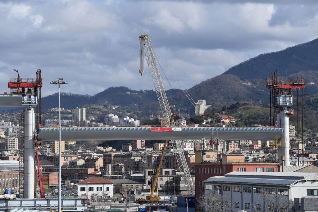 Ieri Polcevera e 43 vittime, oggi Viadotto Genova Sangiorgio e ritorno alla vita