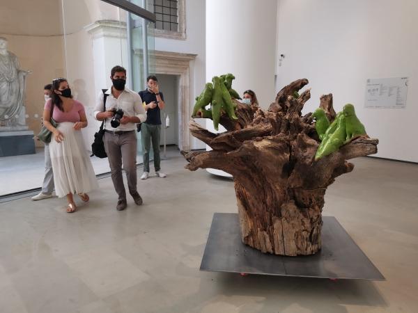 Roma. arte contemporanea a Villa Borghese celebra la natura