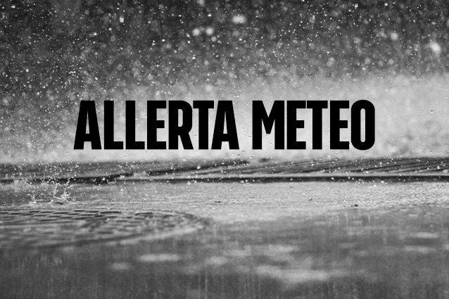Allerta meteo in alcune zone dell'Italia