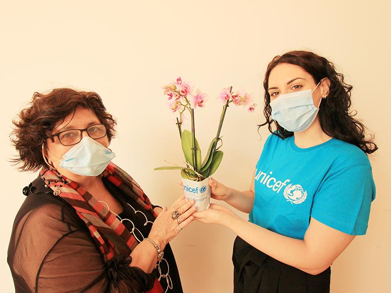 Orchidea UNICEF: combatti la malnutrizione infantile Eventi a Napoli
