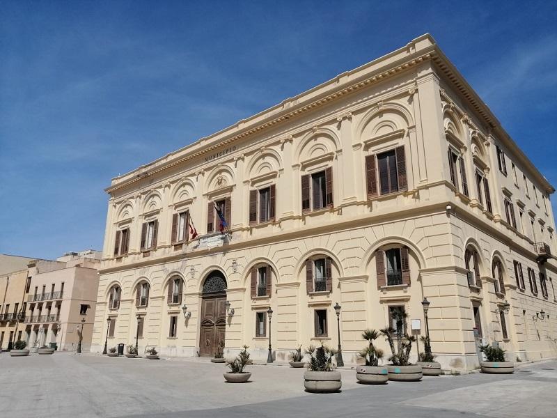 Trapani, covid19: chiuso il comune